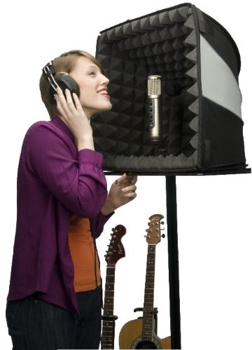 Vocal Recording Studio At Home and on the Road- The Porta-Booth Pro