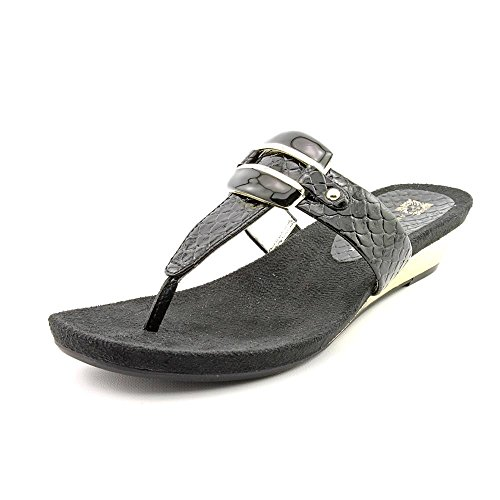 7. Anne Klein Women's Ita Mid Wedge Thong Sandals