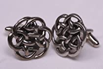 Celtic knot large cufflinks by classic cufflinks