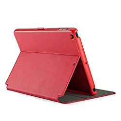 Speck Products SPK-A2249 StyleFolio Case and Stand for iPad Air Dark Poppy Red/Slate Grey