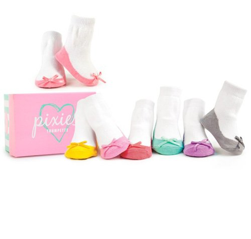 Trumpette Box of Pixie Pastel Socks 0-12 Months 