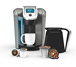 Keurig 2.0 K550 Brewing System (Silver & Black) by KEURIG