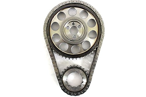 Chevy BBC 454 Double Roller 9 Keyway Billet Steel Timing Chain Kit (Brs/Brg) (Bbc Roller Camshaft Kit compare prices)