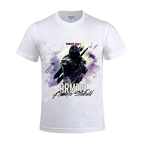Armijo Braulio Stefield Men Crew Neck T Shirt Men White
