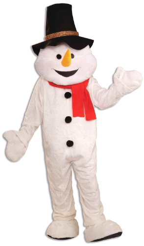 Forum Novelties Men's Plush Snowman Mascot Adult Costume