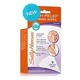 Sally Hansen Ouch-relief Numbing Wipes