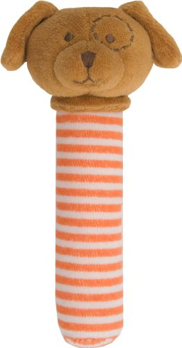 Angel Dear Stick Rattle, Brown Puppy front-294883