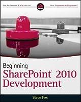 Beginning SharePoint 2010 Development ebook download