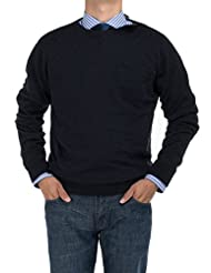 Bianco B Men's Modern Cotton Sweater