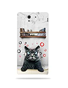 alDivo Premium Quality Printed Mobile Back Cover For Sony Xperia C3 / Sony Xperia C3 Back Case Cover (MKD108)