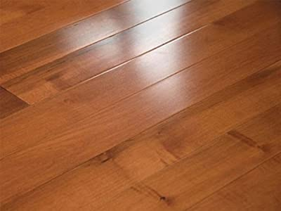 2-1/4 x 3/4 inch Greenland Solid Hardwood Maple Amber (Select & Better) Flooring (8 inch sample)