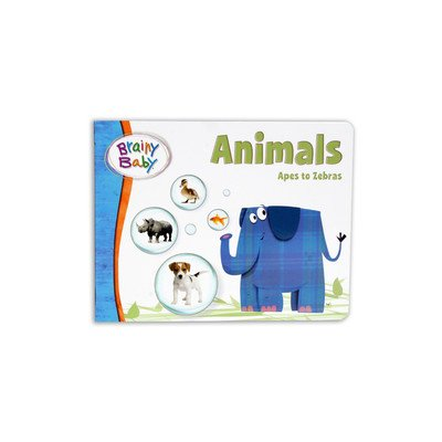 Brainy Baby Animals Board Book - 1