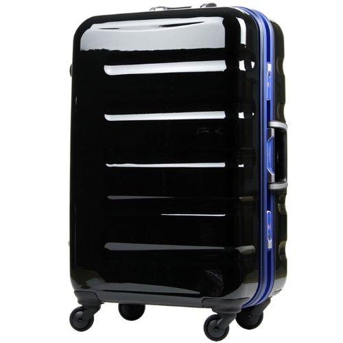 LEGEND WALKER スーツケース キャリーバッグ 4輪 TSAロック 旅行 PC100% 鏡面仕上げ 日乃本キャスター搭載 31.5L (ブルー)