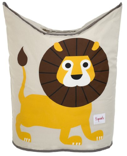 Review Of 3 Sprouts Laundry Hamper, Lion