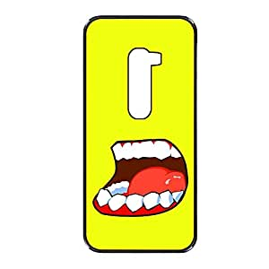 Vibhar printed case back cover for LG G2 OpenMouth