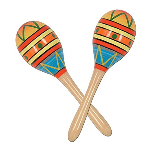 Buy Fiesta Fun Party Maracas Party Accessory (1 count) (2/Pkg)