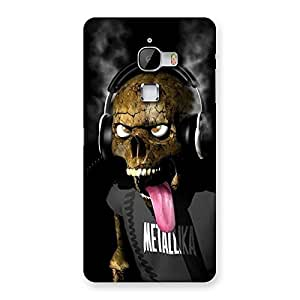 Enticing Metal Tounge Back Case Cover for LeTv Le Max