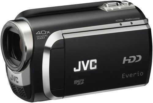 Jvc Everio Gz-Mg670 80Gb Hdd Camcorder (Black)