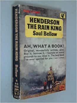 henderson the rain king Henderson the rain king summary & study guide includes detailed chapter  summaries and analysis, quotes, character descriptions, themes, and more.