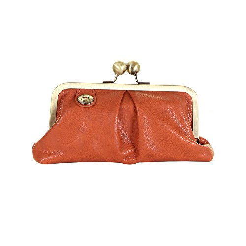 Darling AA13-130 Tessa Clutch Burnt Orange