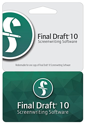 Final Draft 10 (Mac Writing Software compare prices)