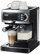 Beem D2000.550 i-Joy Café & Latte, Siebträger-Espressomaschine mit integriertem automatischen Milchaufschäumer für Cappuccino und Latte Machiato: Amazon.de: Küche & Haushalt