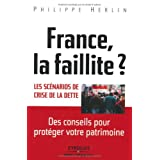 France, la faillite ? Les scnarios de crise de la dette.par Philippe Herlin
