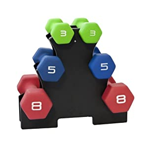 CAP Barbell 3-tier Dumbbell Tree, Rack Only