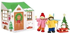 Voila Christmas Activity Doll Set Includes Two 4 Inch Dolls