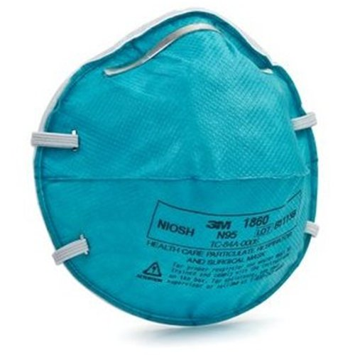 3M 1860S N95 Health Care Respirators Pack Of 10 Masks front-991270