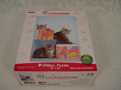 "Rachel Hale 550 Piece Puzzle Zoe, Zola, and Zeke 18 x24"""