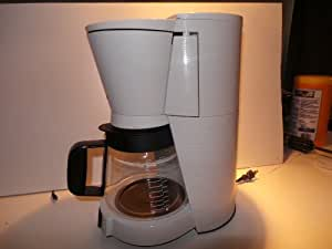 Amazon.com: Braun Flavorselect Kf-157 3096 12 Cup Coffee Maker 1200 Watt White Flavor Select ...
