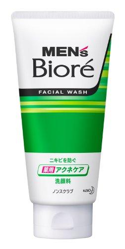 メンズビオレ 薬用アクネケア洗顔 130g