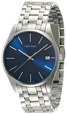Calvin Klein K4N2114N Mens Time Blue Silver Watch