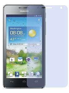 6x kristallklare Displayschutzfolie für Huawei Ascend G615