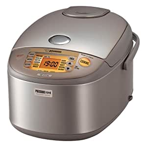 Zojirushi NP-HTC18 Induction Heating Pressure Rice Cooker and Warmer