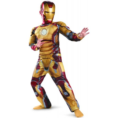 Iron Man Mark 42 Classic Muscle Costume - Large