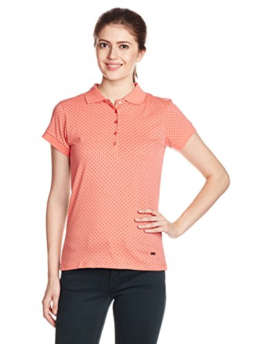 Park-Avenue-Womens-Polka-Dot-T-Shirt