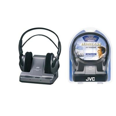 JVC 900MHZ Wireless Over-the-Ear Headphones | Black