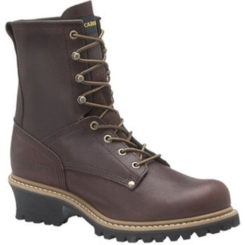 "Carolina Mens 8"" Safety Briar Leather Boot 10 D Us [Apparel]"