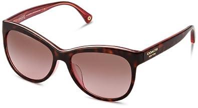 Amazon.com: COACH Sunglasses HC 8055F 511514 Tortoise Pink