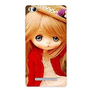 Special Angel Wearing Hat Multicolor Back Case Cover for Xiaomi Mi4i