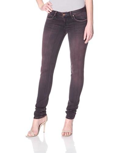 SOLD Design Lab Women's Overdye Skinny Jean  - Purple
