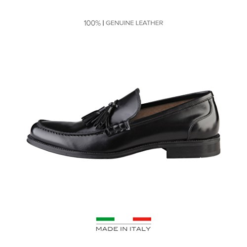 Made In Italia Dorian, Mocassini uomo nero Size: EU 41