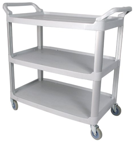 Winco 3 Tier Utility Cart, 33 1/4 x 17 x 37 1/2 inch -- 1 each.