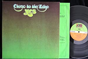 YES Close to the Edge vinyl LP German pressing