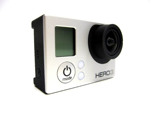 GoPro Camera HD HERO3: Silver Edition