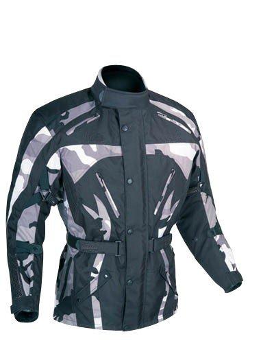 Australian Bikers Gear Jaedyn Pro Camo Armoured Waterproof Motorcycle Jacket (Chest 38