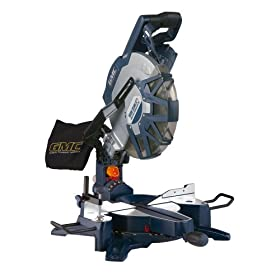 GMC CDB12MSUL 15 Amp 12-Inch Double Bevel Compound Miter Saw with REDEYE