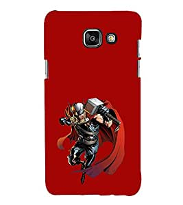 EPICCASE Thor the Asguardian Mobile Back Case Cover For Samsung Galaxy A3 (2016) (Designer Case)